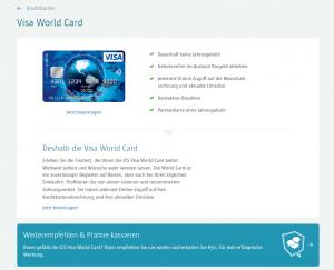 ICW Visa World Card