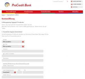 pro-credit-antrag